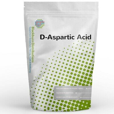 AU15.94 • Buy D-aspartic Acid 250g - Testosterone Booster - Express Delivery