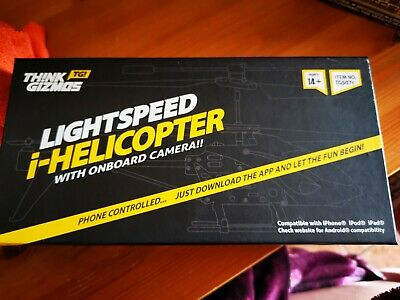 Lightspeed I-helicopter Phone Controlled Helicopter  - Complete In Box • 15£