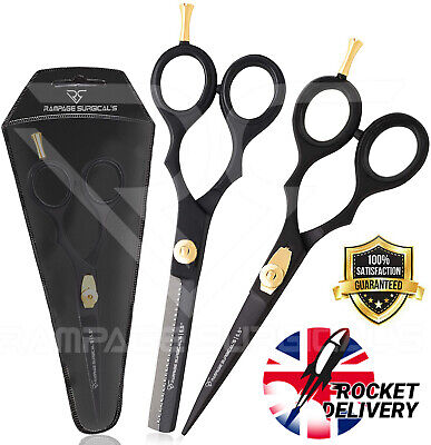 £3.98 • Buy Professional Hair Cutting Scissors Thinning Shears Set-Hairdressing Shear Sizzor