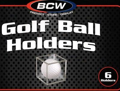 *2 Boxes Golf Ball Display Cases Holders Stackable Cube Holder Stand BCW 12 Pack • 15.54£