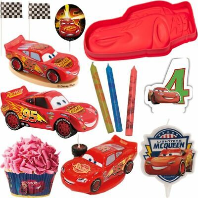 Disney Cars Pie Decoration Deco Cake Pie Baking Car Kid's Birthday Set • 14.66£