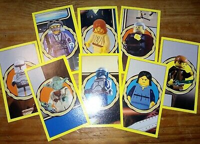 £3 • Buy Star Wars - Attack Of The Clones - Lego Merlin Stickers Full Set 2002