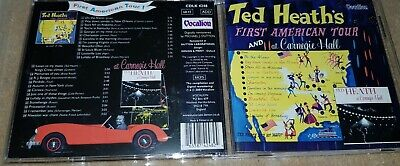 Ted Heath - First American Tour And At Carnegie Hall - Cd - Vocalion • 4.99£