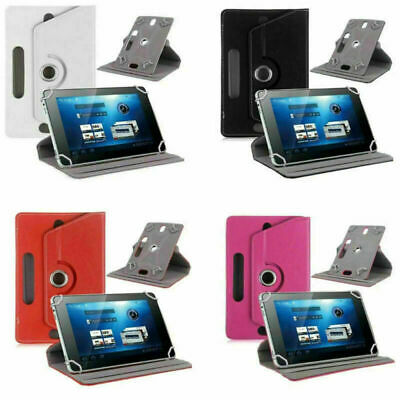 AU12.99 • Buy 8.1 Inch 360 Cover Folding Leather Protective Case For Universal PC Tablet