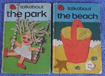 Ladybird Book,Talkabout The  Park,Talkabout The Beach,Series 735 • 4.25£