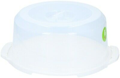 £8.95 • Buy Plastic Cake Cheese Dome Cake Cover Pastry Container Lockable Lid For 11.5  Cake