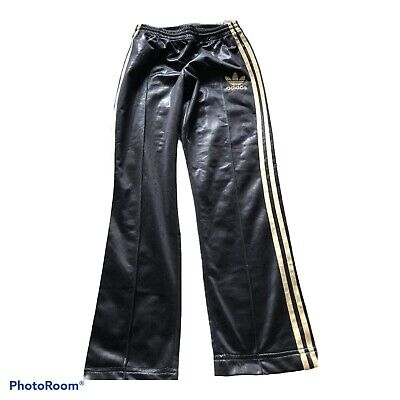 £53 • Buy Adidas Chile Wet Look  Track Glanz  Nylon Pants Shiny 28 W  Gloss Vtg Cal Surf