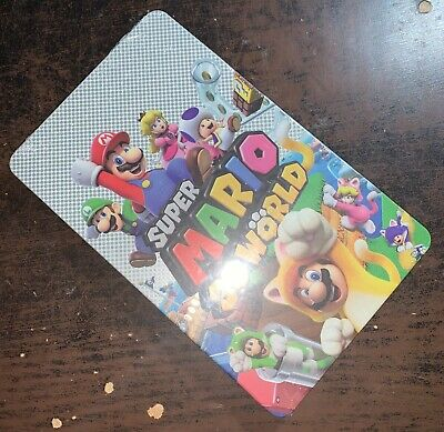 $ CDN35.26 • Buy Super Mario 3D World - (NO GAME STEELBOOK ONLY) • Nintendo Switch (New & Sealed)