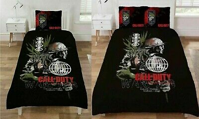 £23.95 • Buy Call Of Duty Cold War Single Double Duvet Cover Bedding Set Warning Gamers Gift