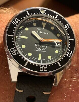 $ CDN1096.74 • Buy Squale 1521 Classic Professional Diver 500 Atmos Full Set March 2020
