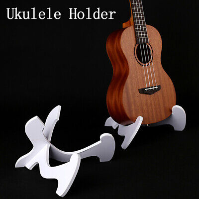 AU13.61 • Buy 1 Pair Foldable Guitar Stand Ukulele/Violin Collapsible Holder Guitar Access  WH