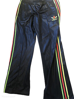 £51 • Buy Adidas Chile Wet Look  Track Glanz  Nylon Pants Shiny 38 W Xl Gloss Vtg Cal Surf