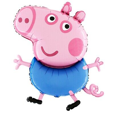 £5.99 • Buy Diffusion XL Foil CBeebies George Pig Full Body Character Party Balloon 37  94cm