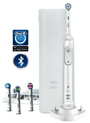 View Details Oral-B Genius X 20000 4 Heads Electric Toothbrush White  - 2 Year Warranty • 94.95£