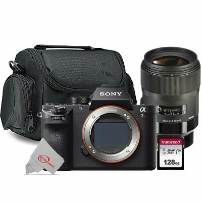 AU2673.46 • Buy Sony Alpha A7R II Mirrorless Digital Camera With S Sigma 35mm F/1.4 Lens Bundle