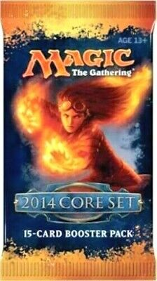 $11.95 • Buy  Magic 2014 (M14) Booster Pack X 1  Brand New - From Sealed Box MTG