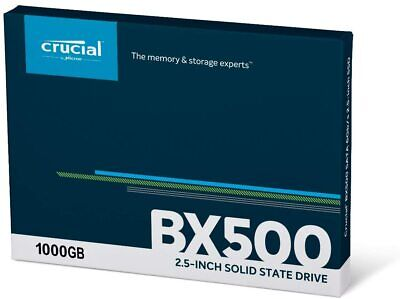AU129 • Buy Crucial BX500 1TB SSD Solid State Drive (CT1000BX500SSD1) SATA III