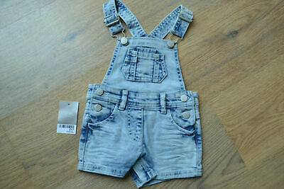 Baby Girls Cute Denim Dungarees.  Age 6-9m.  NEXT.  NEW • 4£
