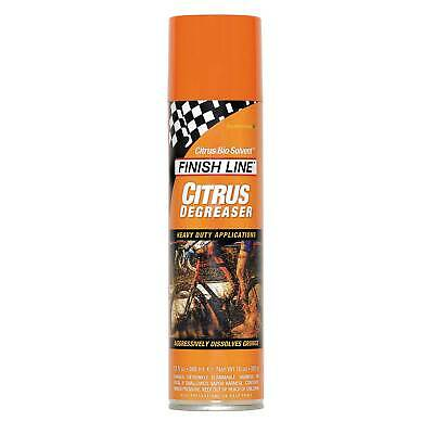 Finish Line Citrus BioSolvent Road / MTB Mountain Bike Degreaser 360ml Aerosol • 15.13£