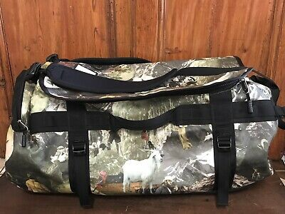 Rare The North Face Base Camp Duffle Bag Large Bag With Straps 95 L • 336.93£