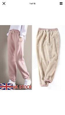 £4.99 • Buy Women Winter Warm Thick Trousers Thermal Fleece Lined Stretchy Leggings Pants XS