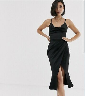 AU30 • Buy ASOS DESIGN Cowl Neck Cami Midi Dress