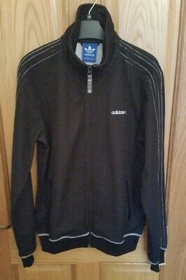 Adidas Originals Track Jacket Top. Black. Size M, Germany 50 Sample. Very Rare! • 49.99£