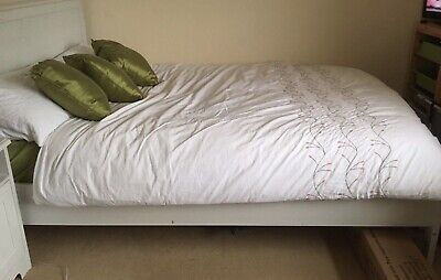 Ikea Double Bed Frame And Mattress • 21£