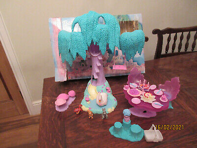 Barbie Swan Lake Enchanted Forest Moving Animal Fox  Playfigure Box Table Chairs • 29.99£