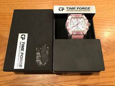 £14.99 • Buy Brand New Time Force Ultimate Concept Watch In Pink