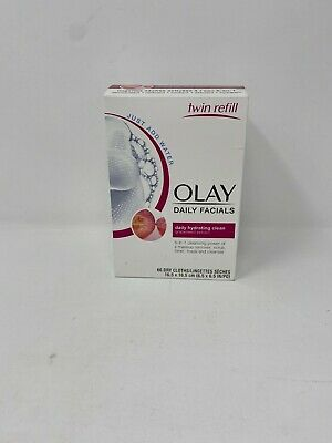 AU15.43 • Buy Olay Daily Facials 5 In 1 (66 Dry Clothes) New