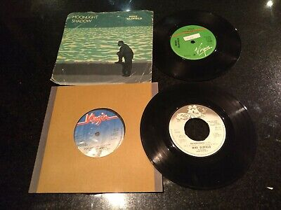 £3.49 • Buy MIKE OLDFIELD JOB LOT 4x UK 7  IN DULCI JUBILO MOONLIGHT SHADOW GUILTY