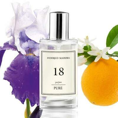 FM 18 50ML Pure Perfume Fragrance For Her Women Notes Of Chanel Co Co Mad • 12.90£