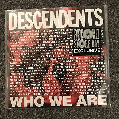 Descendents - Who We Are - Rsd 7  - Nofx. All , Blink 182, Alkaline Trio ,rancid • 11.99£