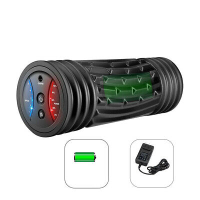 AU85.99 • Buy Vibrating Foam Roller With 5 Speed Settings For Shoulders Back Soles Upper Arm