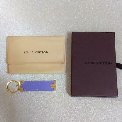 $271.95 • Buy Louis Vuitton Women's Key Ring Charm Leather Purple Used Condition M534