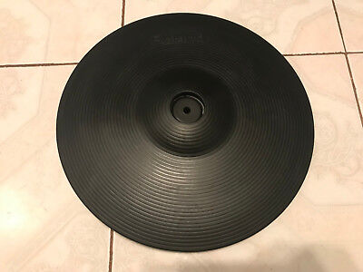 AU219.57 • Buy Roland CY-13R V-Drum 13  Triple Zone Ride Cymbal (15 12 R/c)
