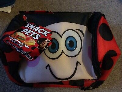 Snack Pets. Lunch Box. Brand New. Cherry The Ladybug • 4£