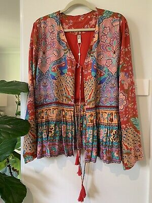 AU350 • Buy Spell And The Gypsy Ruby Lotus Jacket XL