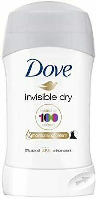 Dove Invisible Dry Deodorant Stick, Roll On Deodorant For Men And Women For A C • 2.80£