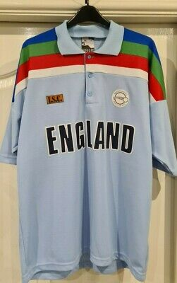 NEW England Cricket Benson & Hedges World Cup 1992 Shirt XL WTAGS (Chest Fit 42) • 29.95£