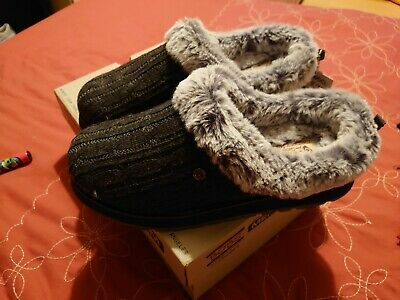 Bobs By Skechers Slippers UK5 Charcoal Brand New With Tags Unworn • 30£