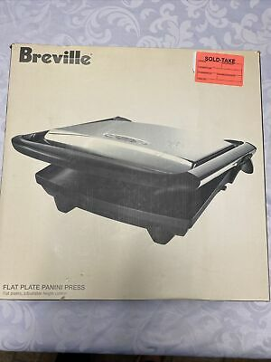 Breville Flat Plate Electric Panini Press SG820XL New • 86.87£