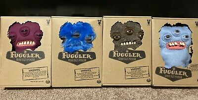 $ CDN126.87 • Buy Fuggler Funny Ugly Monster Annoyed Alien Lot Of 4 Rare Chase. NIB