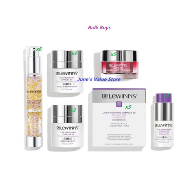 £635.84 • Buy DR LeWinns Line Smoothing Complex LSC S8 Triple Action Day Defence Trinity Mask*