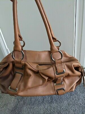 AU80 • Buy Oroton Tan/caramel Leather  Handbag Shoulder Bag