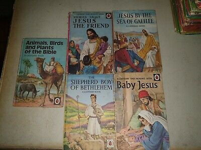 Vintage Ladybird Joblot Books Jesus And Bible Series  • 2.99£