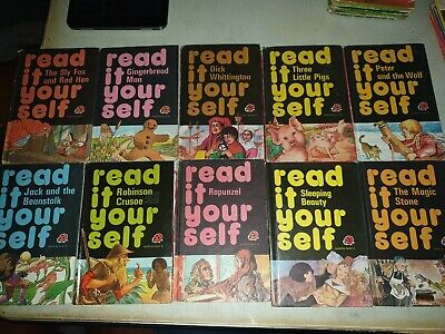 10x Vintage Ladybird Read It Yourself Series 777 Books  • 4.39£