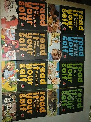 8x Vintage Ladybird Read It Yourself Series 777 Books  • 2.99£