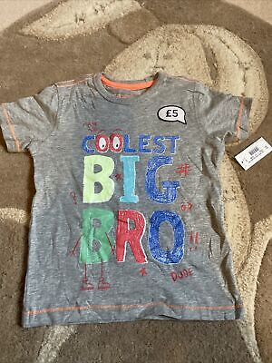 Blue Zoo Big Brother T Shirt 3-4 • 3.23£